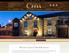 Clancy's Bar & Restaurant - Youghal - Midaza Website Development