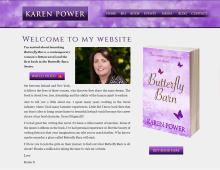 Karen Power Author Website Midaza Web Print Video