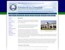 Pobalscoil na Tríonóide - Wensite by Midaza Web | Print | Video