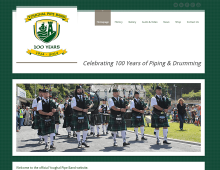 Youghal Pipe Band // Website by Midaza - Web|Print|Video